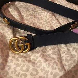 Women's Gucci gg belt